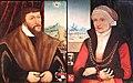 1550 Doppelportrait eines patrizischen Ehepaares anagoria.JPG
