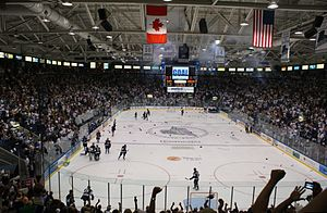 Florida Everblades - The Everblades celebrate their victory in game five of the Kelly Cup finals on May 23, 2012.