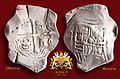 17th Century Spanish Treasure Silver 8 Reales Cob Coin.jpg