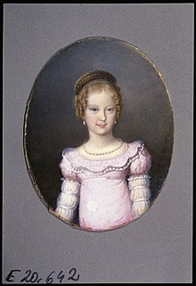 Marie Caroline as a teenager (Source: Wikimedia)