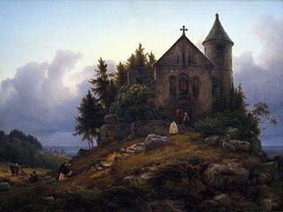 Chapel on the Edge of the Wood