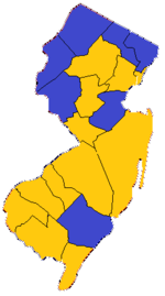 1847 New Jersey gubernatorial election Results.png