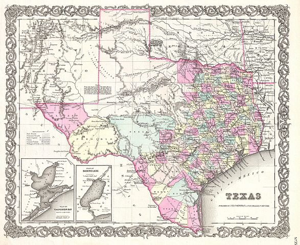 587px-1855_Colton_Map_of_Texas_-_Geographicus_-_Texas-colton-1855  Form Example Texas on form ss-4,