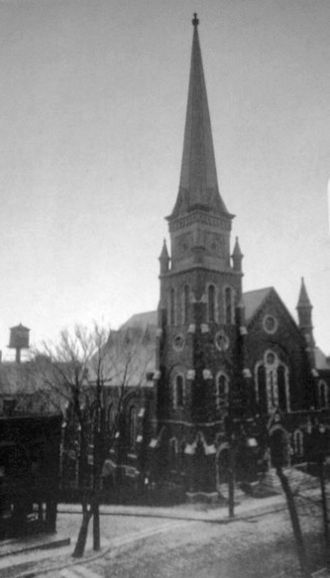 First Congregational Church of Albany - Image: 1866 First Congregational Church of Albany