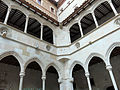 187 Monestir de Montserrat, claustre gòtic.JPG