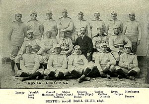1896 Boston Beaneaters season - The 1896 Boston Beaneaters