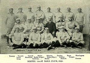 1896 Boston Beaneaters season - The 1896 Boston Beaneaters
