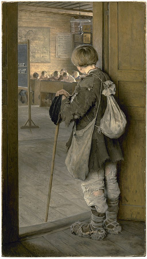 1897 Bogdanov-Belsky At School Doors