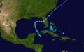 1899 Atlantic tropical storm 6 track.png