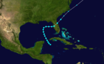 1899 Atlantic tropical storm 6 track.png