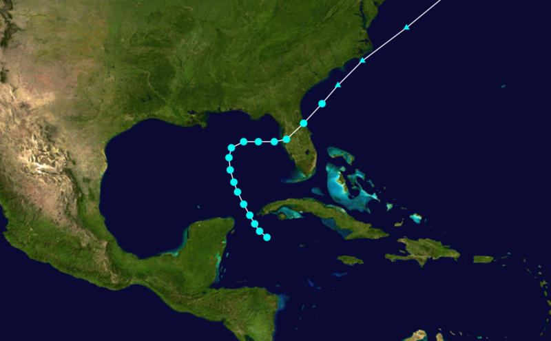 File:1899 Atlantic tropical storm 6 track.png