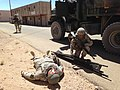 189th IN trainers work with Calif. Guard Transportation Unit at NTC 140723-A-KI791-990.jpg