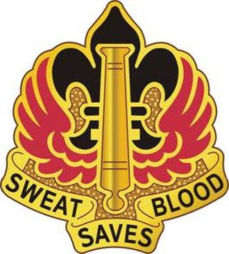 18th Field Artillery Brigade - Image: 18Fires Bde DUI