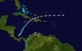 1909 Atlantic hurricane 12 track.png