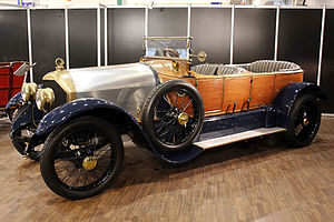 Gobron-Brillié - 1912 Gobron-Brillié with a skiff body by Rothschild
