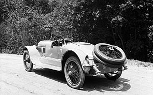 Mercer (automobile) - 1917 Mercer Raceabout