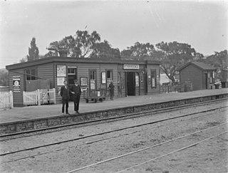 Otorohanga railway station railway station