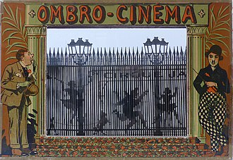 Barrier grid animation and stereography - An Ombro-Cinéma by Saussine Ed. (1921)