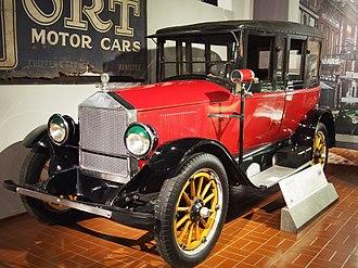 Dort Motor Car Company - 1922 Dort sedan in the Gilmore Car Museum