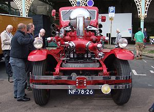 Ahrens-Fox Fire Engine Company - 1927 Ahrens-Fox fire engine