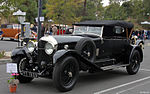 Une Bentley 6½ Litre Tourer de 1928.