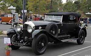 Vanden Plas - Bentley 6½ litre, open touring coachwork by Vanden Plas 1928