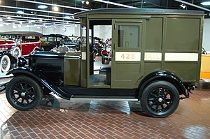 Dover (truck) - US Postal Service