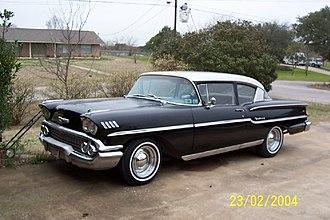 Chevrolet Delray - 1958 Chevrolet Delray 2-door sedan with custom wheels