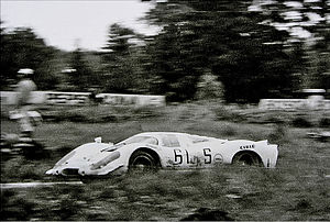 Porsche 917 - Porsche 917 in 1000 km Race at the Nürburgring 1969