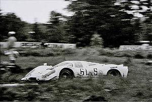 Frank Gardner (racing driver) - Gardner at 1969 1000km Nürburgring with Porsche 917
