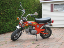 honda ct70 serial number identification