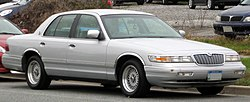 1995-1997 Mercury Grand Marquis -- 11-10-2011.jpg