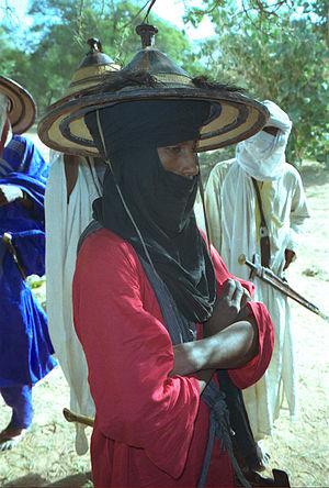 Fula people - A Bodaado (singular of Wadaabe) Fula man