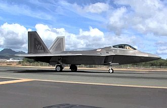 154th Wing - 199th Fighter Squadron - F-22A Raptor 03-4058