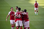 19 Merci Arsène - Celebrating Iwobi's goal (41910930412).jpg