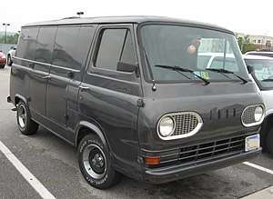 Ford E-Series - 1961–1967 Ford Econoline (customized)