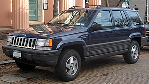 1993–1995 Jeep Grand Cherokee Laredo