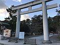 1st torii of Sumiyoshi Shrine 2.jpg