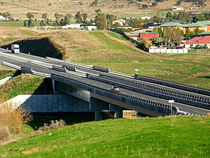 Brighton Bypass - Image: 20 08 2013 Jordan River Levee Bridge(Pic lab)