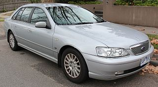 Ford Fairlane (Australia) Motor vehicle