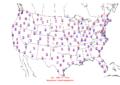 2006-02-25 Max-min Temperature Map NOAA.png