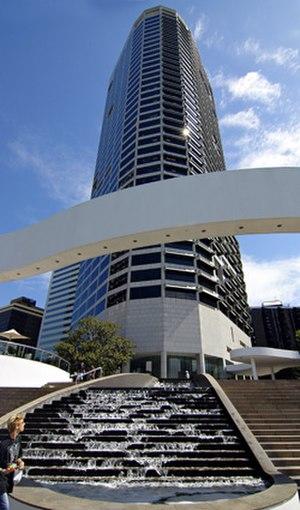 Riverside Centre, Brisbane - Viewed from Brisbane River side