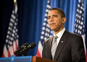 US-President Obama.