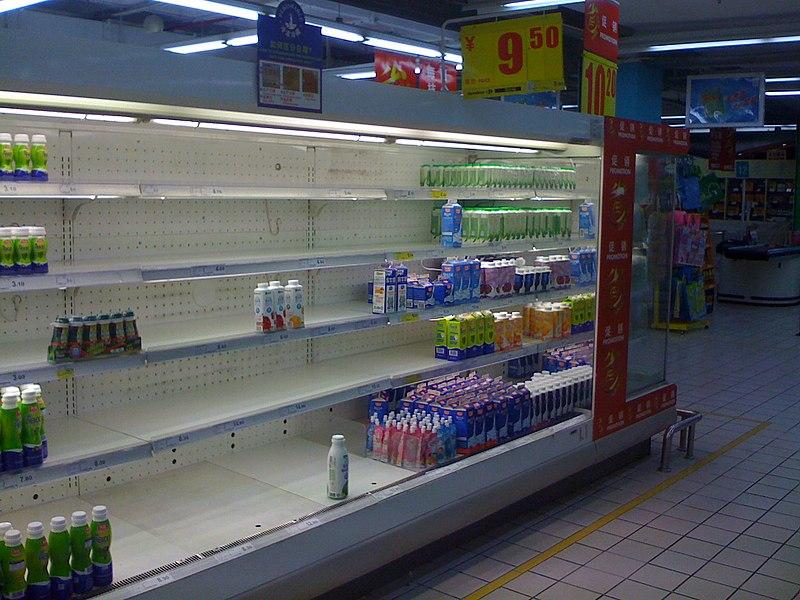 중국산 멜라민 관련 유통판매 금지 305 식품
