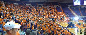 2009–10 Clemson Tigers men's basketball team - College GameDay live broadcast from Littlejohn Coliseum (Jan 23, 2010)