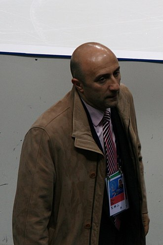 Gurgen Vardanjan - Gurgen Vardanyan at the 2011 World Figure Skating Championships