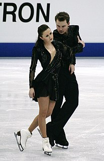 Julia Zlobina Russian and Azerbaijani ice dancer