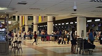 Phuket International Airport - inside Phuket Airport