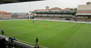 Sestao River Club - Estadio Las Llanas, home of Sestao River.