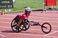 2013 IPC Athletics World Championships - 26072013 - Catherine Debrunner of Switzerland during the Women's 400M - T53 second semifinal.jpg